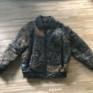 Other - Vintage Al Pacino Scarface Leather Jacket